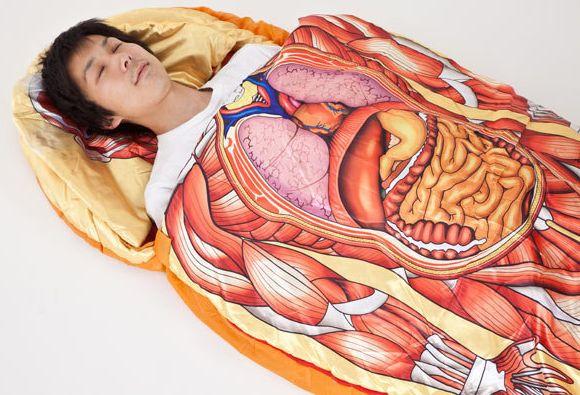 Anatomical Model Sleeping Bag