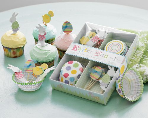 easter cupcakes decorations. Easter Cupcake Decorating Kit