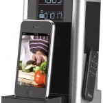 Kitchen Timer and Alarm Clock Radio Speaker System for iPhone/iPod
