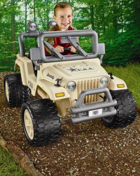 Power Wheels Camo Jeep