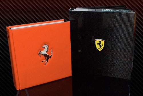 ferrari opus book table