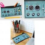 control panel pencil case