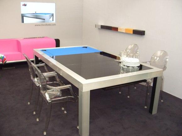 Chevillotte Table Pool Table