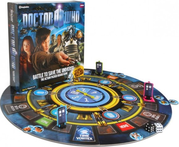 Doctor Who Save The Universe Board Game