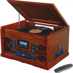 Remanufactured Innovative Technology ITRR-700 Retro USB Stereo Turntable System