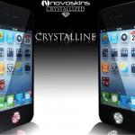 iPhone 4 Novoskins Pink Crystalline Crystal