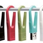 Karabiner Type USB Memory