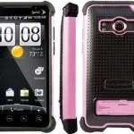 BALLISTIC SPRINT HTC EVO 4G SG CASE PINK BLACK
