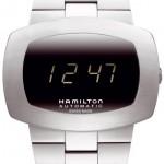 Hamilton Men's HML-H52515139 Pulsomatic Black Dial Watch