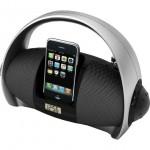 Portable iPod Dock Boom Box AM/FM with Clock