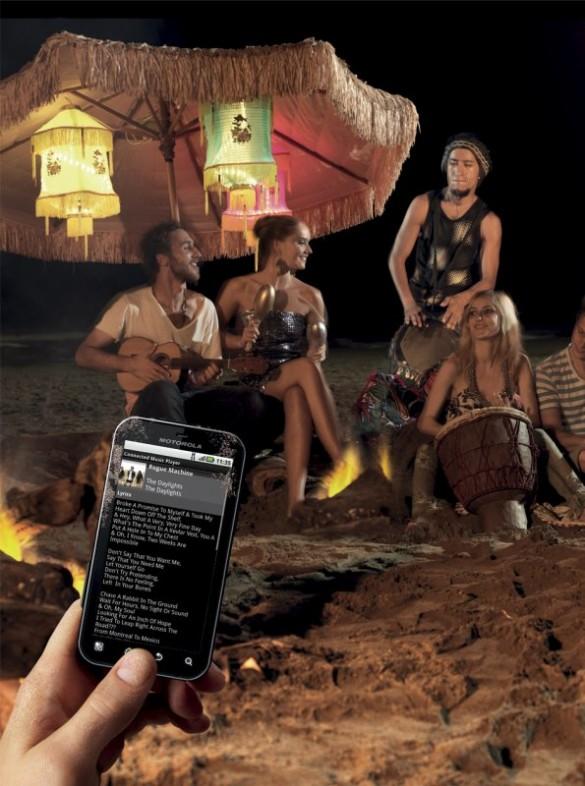 Motorola DEFY+ Beach
