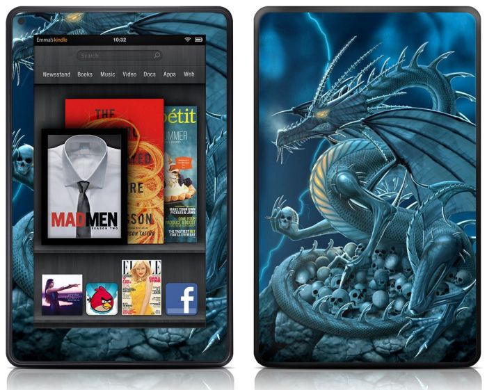 Decalgirl Kindle Fire Skin - Abolisher