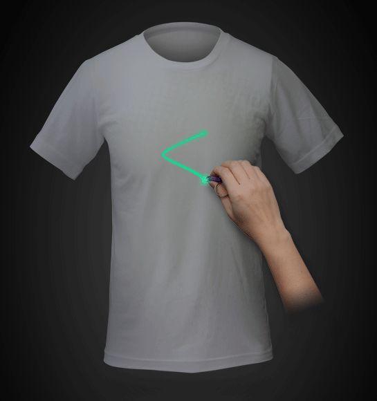 Lazer Shirt Interactive Tee