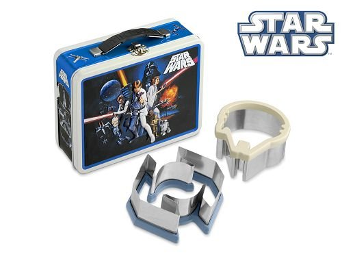 Star Wars Limited Edition Tin Lunch Box with Bonus Sandwich Cutters