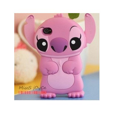 Disney 3d Stitch Movable Ear Flip Hard Case Cover for Iphone 4/4s