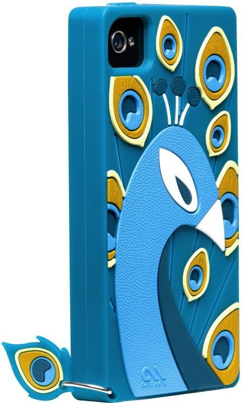 Peacock - Silicone iPhone 4 / 4S Case