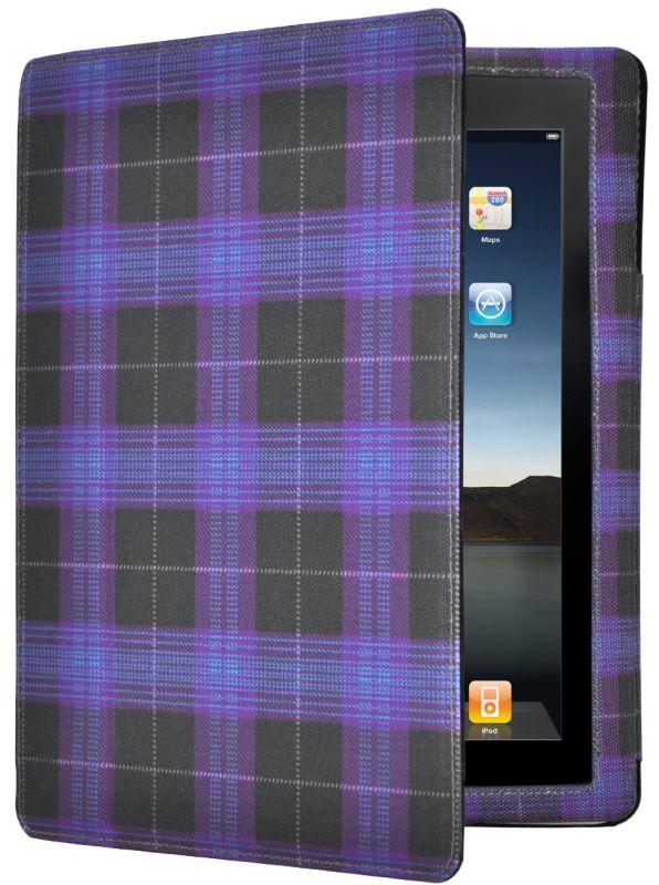 iPad 2 multifunction folio case with fashion pattern.