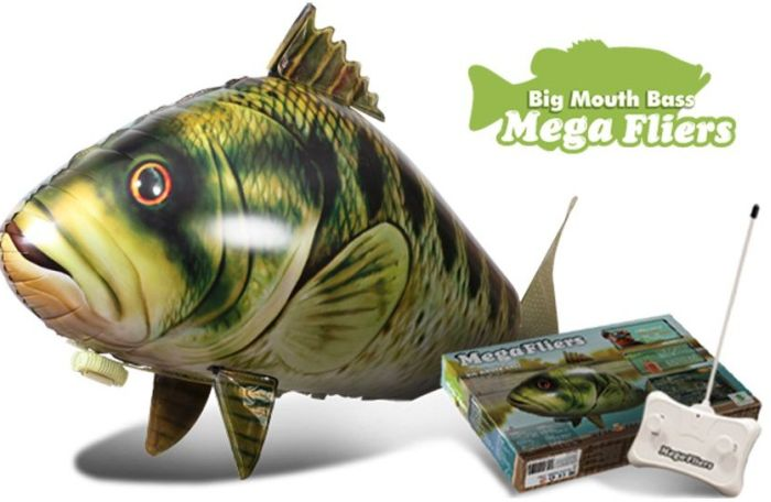 The Giant Flying Fish Big Mouth Bass