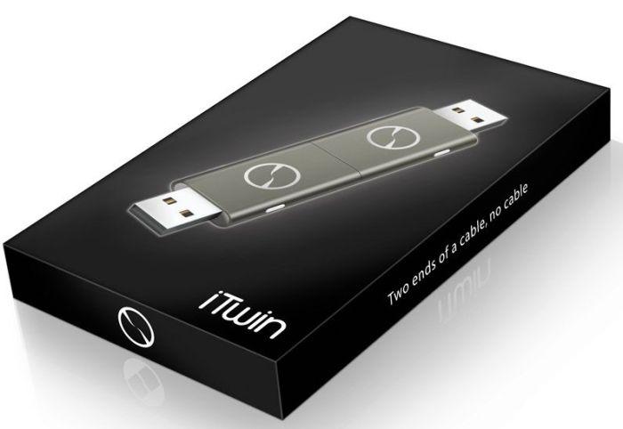 iTwin Gray Plug'n'Play Remote File Access USB Device