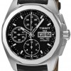 Tissot Men's T0084141605100 PRC 100 Black Chronograph Dial Watch
