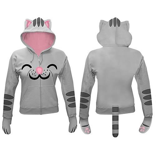Big Bang Theory Kitty Juniors Hooded Sweatshirt