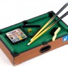 "21"" Mini Tabletop Pool Table Wood Billiards Set"