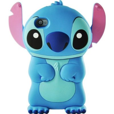 Disney 3d Stitch Movable Ear Flip Hard Case Cover