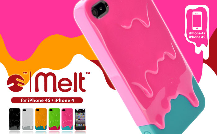 Melt 3D Case for iPhone 4S/4