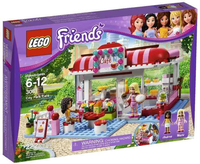 LEGO Friends City Park Café