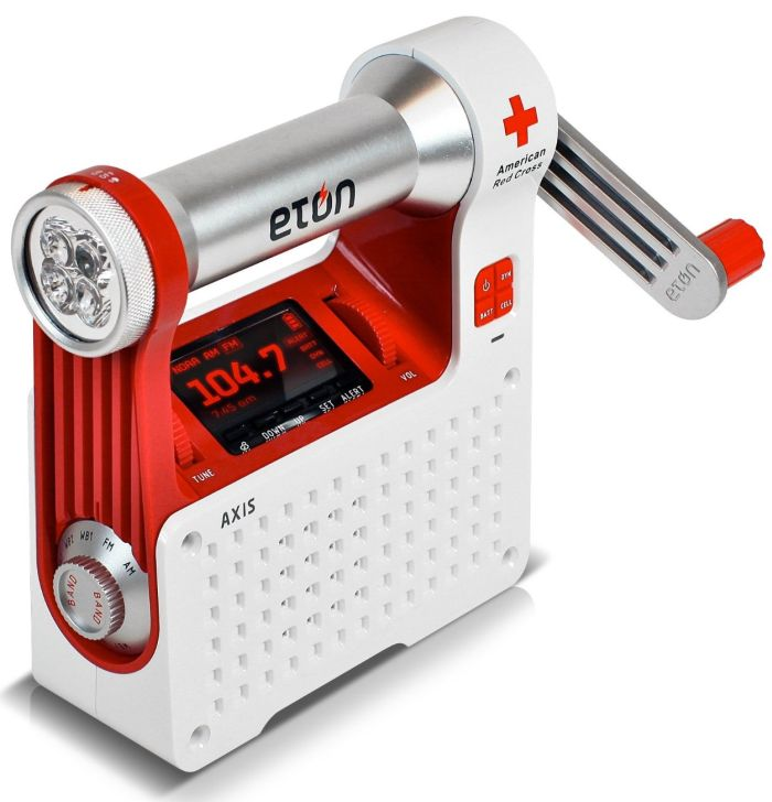 Eton ARCPT300W American Red Cross Axis Self-Powered Safety Hub