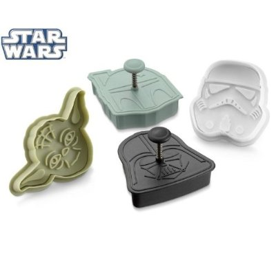 Star Wars Press-and-Stamp Cookie Cutters