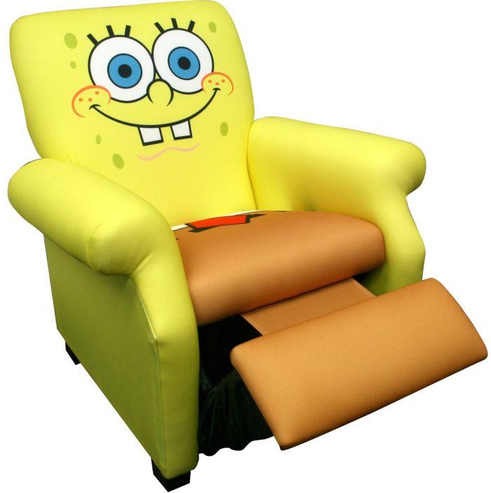 Nickelodeon Deluxe Recliner, Sponge Bob