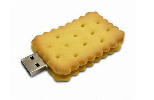 8 GB biscuit shape Style USB Flash Drive