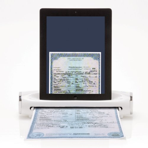 iConvert Scanner for iPad or iPad 2 Tablet