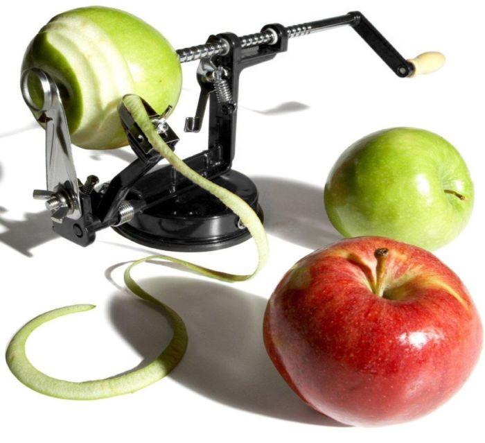 Apple And Potato Peeler, Corer, and Slicer
