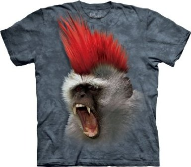 The Mountain Punky Monky Mohawk Short Sleeve Tee T-shirt