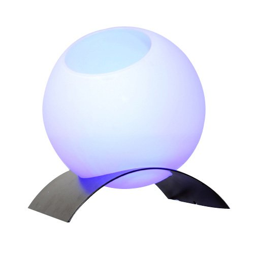 Ultrasonic Ball Mist Decorative Humidifier LED Multi-color Lamp