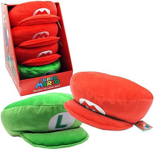 Super Mario Bros. Pillow Hat Plush Case