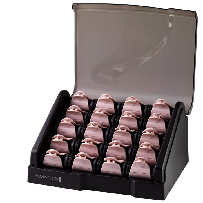 Pearl Ceramic Heated Clip Hair Rollers