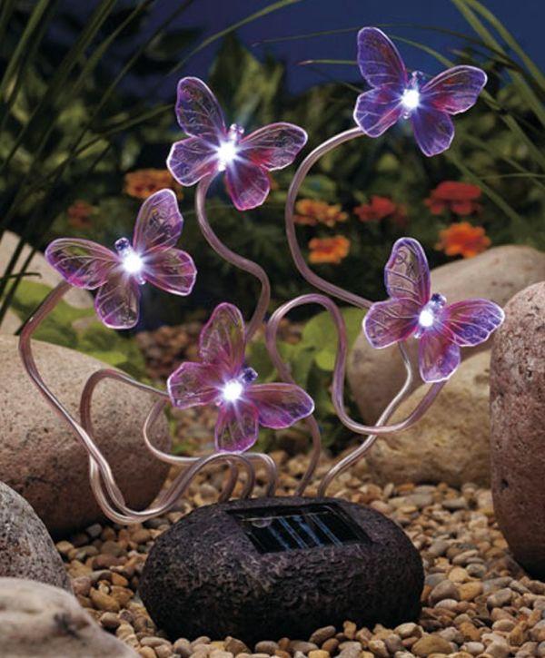 Twinkling Solar Butterfly Rock