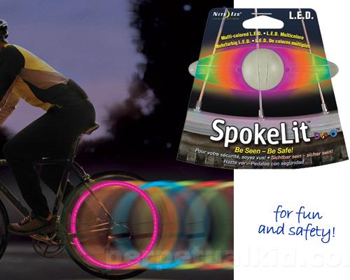 SPOKELIT COLOR CHANGING WHEEL LIGHT