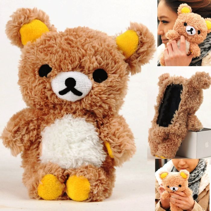 Plush Toy Case for iPhone 4 and iPhone 4S