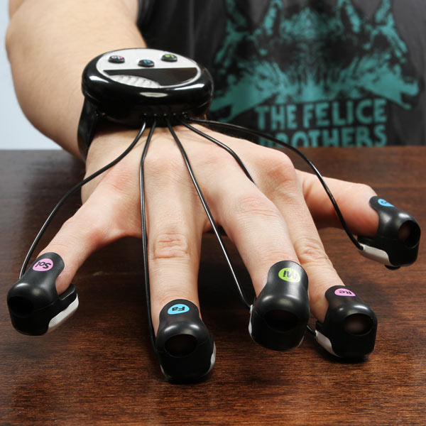 Japanese Wrist-Mounted Finger Piano