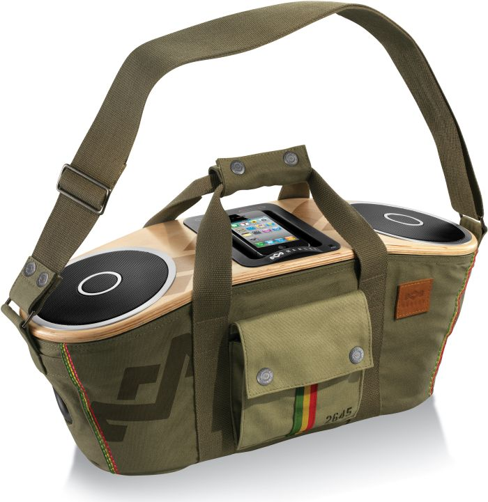 Bag of Rhythm Portable Audio System for iPod and iPhone
