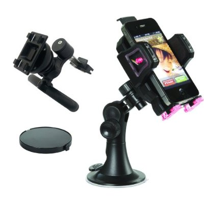 Skiva StrongMount M1 Universal Car Holder/Mount for iPhone 4, 4S