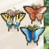 Butterfly Garden Wall Pocket Planters