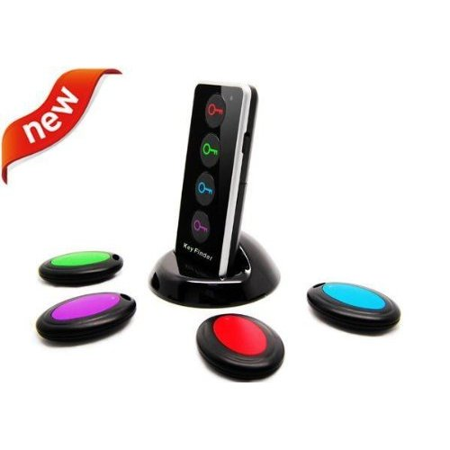 Key Finder (Better than Click n' Dig) 4 Receiver Wireless