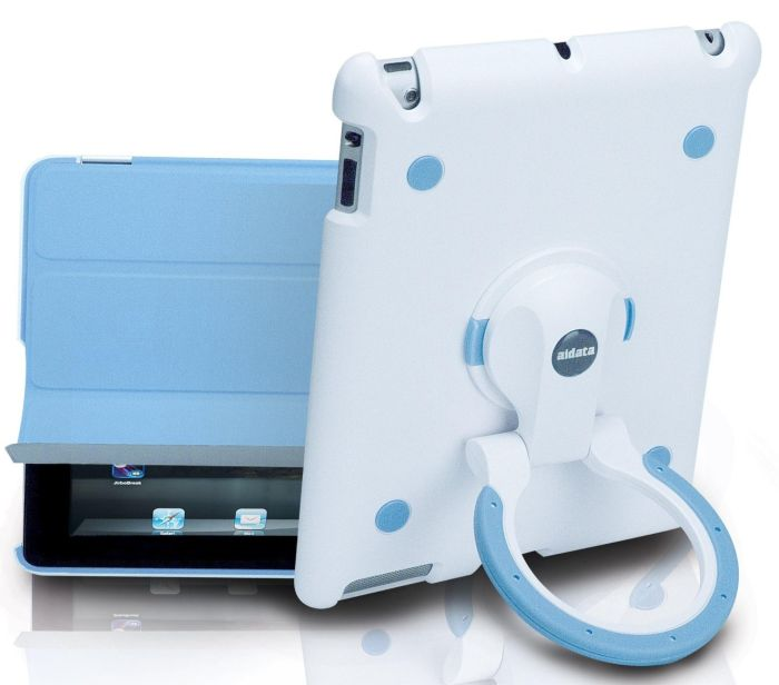 Multi-function Stand for iPad2 - Blue