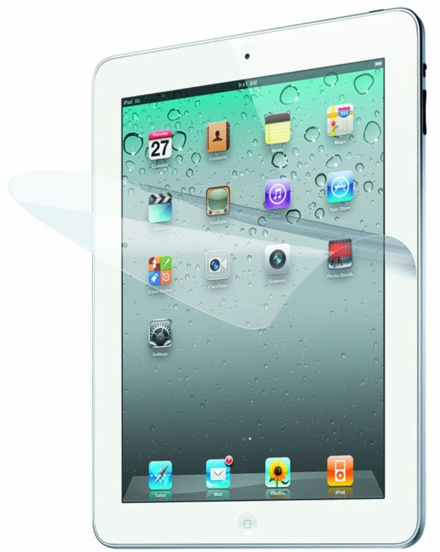 Screen Protector for Apple iPad 3