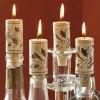 Wine Cork Candles - Set of 4